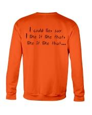 Billie eilish special t-shirt Crewneck Sweatshirt back