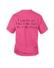 Billie eilish special t-shirt Youth T-Shirt back