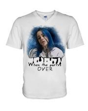 Billie eilish special t-shirt V-Neck T-Shirt thumbnail