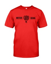 2019 Masters Boxing T-shirt Classic T-Shirt front