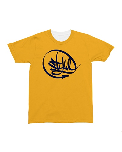 LOS Style T-shirt Yellow