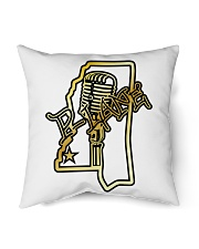 """P-Lane House Products Gold and Black logo Indoor Pillow - 16"""" x 16"""" thumbnail"""