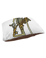 P-Lane House Products Gold and Black logo Pet Bed - Small thumbnail
