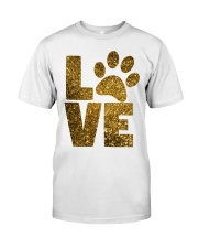DOG LOVE APPAREL AND ACCESSORIES Classic T-Shirt front