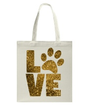 DOG LOVE APPAREL AND ACCESSORIES Tote Bag thumbnail