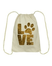 DOG LOVE APPAREL AND ACCESSORIES Drawstring Bag thumbnail