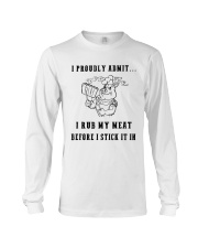 RUB MEAT BBQ White Edition Long Sleeve Tee thumbnail