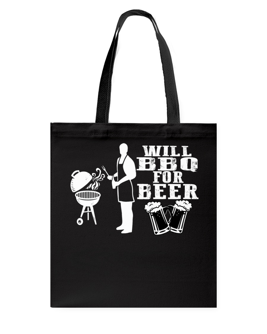 Will BBQ for Beer Tote Bag