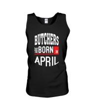 Butcher born in April Unisex Tank thumbnail