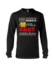 Just another beer drinker with a BBQ addiction Long Sleeve Tee thumbnail
