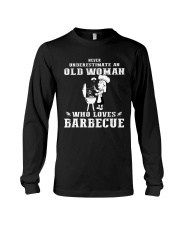 Never underestimate an old woman Long Sleeve Tee thumbnail
