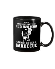 Never underestimate an old woman Mug thumbnail