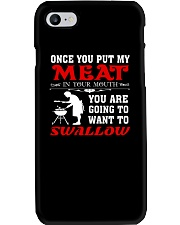 LOVE BARBECUE FOOD T-SHIRT Phone Case thumbnail