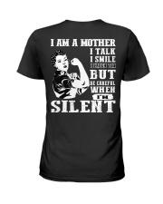 I am loving mom shirts Ladies T-Shirt back