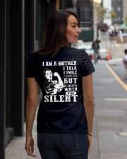 I am loving mom shirts Ladies T-Shirt lifestyle-women-crewneck-back-1
