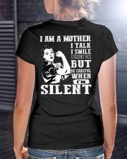 I am loving mom shirts Ladies T-Shirt lifestyle-women-crewneck-back-3