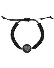 I am loving mom shirts Cord Circle Bracelet thumbnail