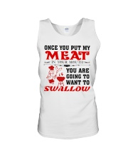 LOVE BARBECUE FOOD White Edition Unisex Tank thumbnail