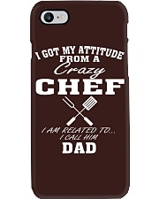 DAD IS A CRAZY CHEF Phone Case thumbnail