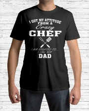 DAD IS A CRAZY CHEF Classic T-Shirt lifestyle-mens-crewneck-front-1