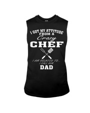 DAD IS A CRAZY CHEF Sleeveless Tee thumbnail