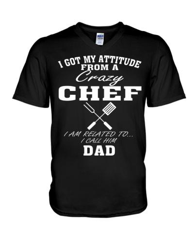 DAD IS A CRAZY CHEF
