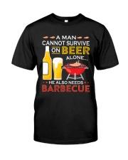 LOVE BURN FOOD BBQ GRILL 7 Classic T-Shirt front