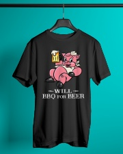 Will BBQ for BEER Classic T-Shirt lifestyle-mens-crewneck-front-3
