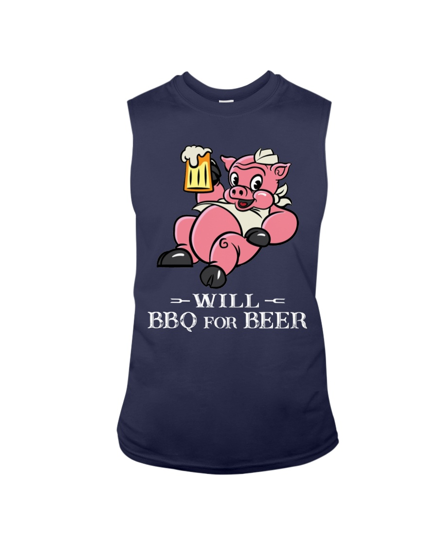 Will BBQ for BEER Sleeveless Tee