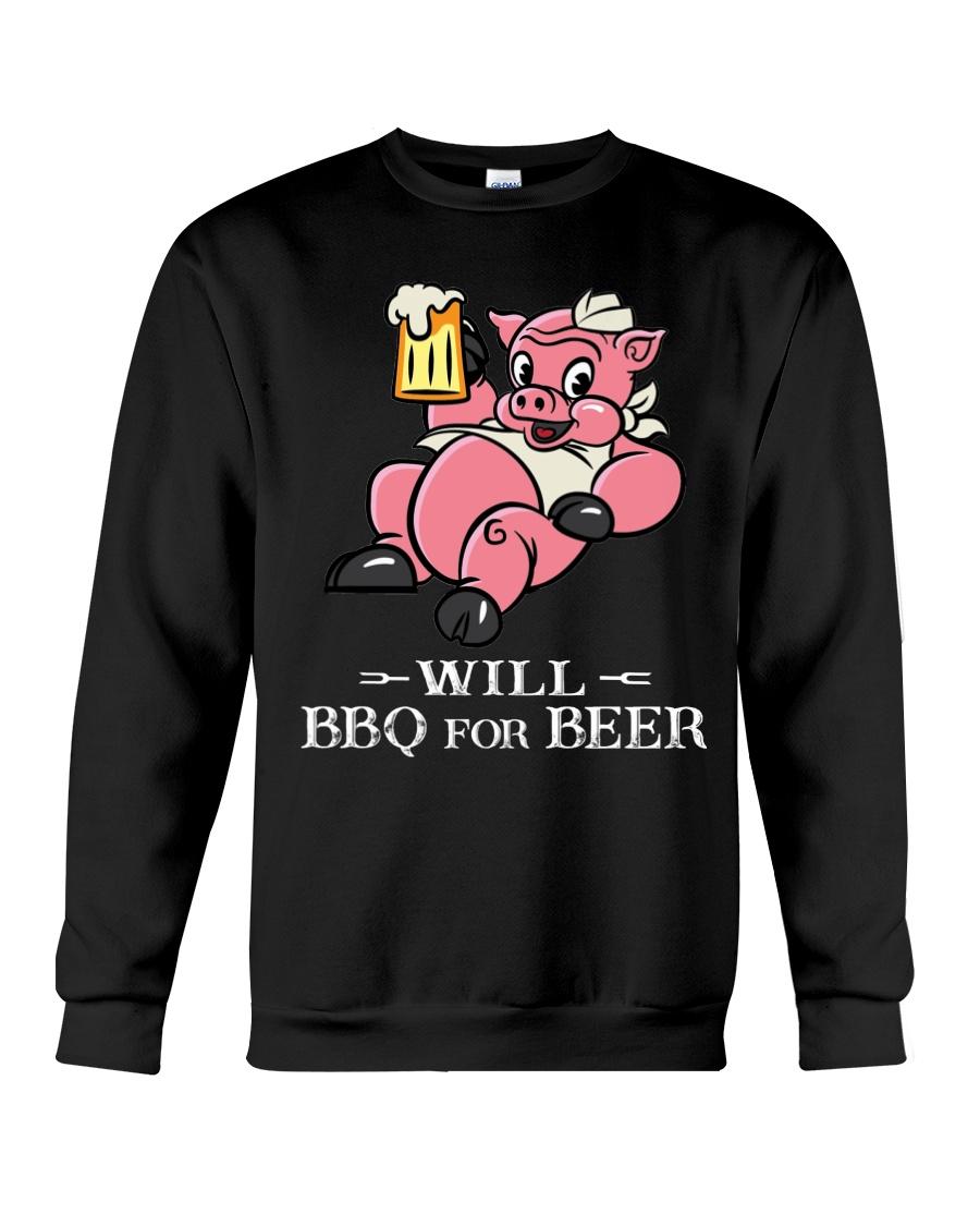 Will BBQ for BEER Crewneck Sweatshirt