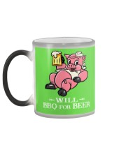 Will BBQ for BEER Color Changing Mug color-changing-left