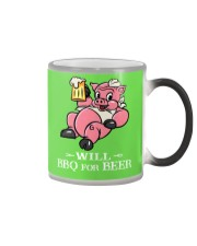 Will BBQ for BEER Color Changing Mug color-changing-right