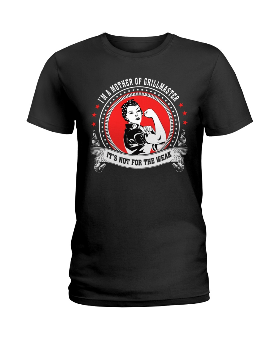 Mother's Day Grillmaster Ladies T-Shirt