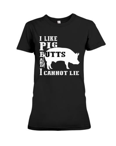 I like Pig butts and I cannot lie