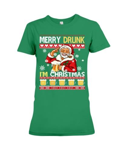 Merry Drunk I am Christmas