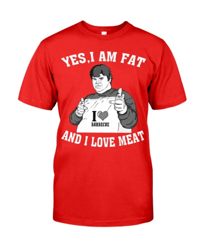 I am fat and I love meat