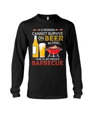 LOVE BURN FOOD BBQ GRILL 8 Long Sleeve Tee thumbnail