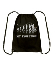 This Is My Evolution Drawstring Bag thumbnail