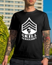 Grill Sergeant Classic T-Shirt lifestyle-mens-crewneck-front-8