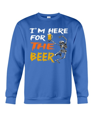 I am here for the beer