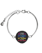 Mother's Day best gift Metallic Circle Bracelet front