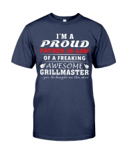 FATHER-IN-LAW GRILLMASTER Premium Fit Mens Tee front