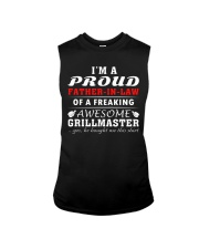 FATHER-IN-LAW GRILLMASTER Sleeveless Tee front