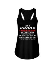 FATHER-IN-LAW GRILLMASTER Ladies Flowy Tank front