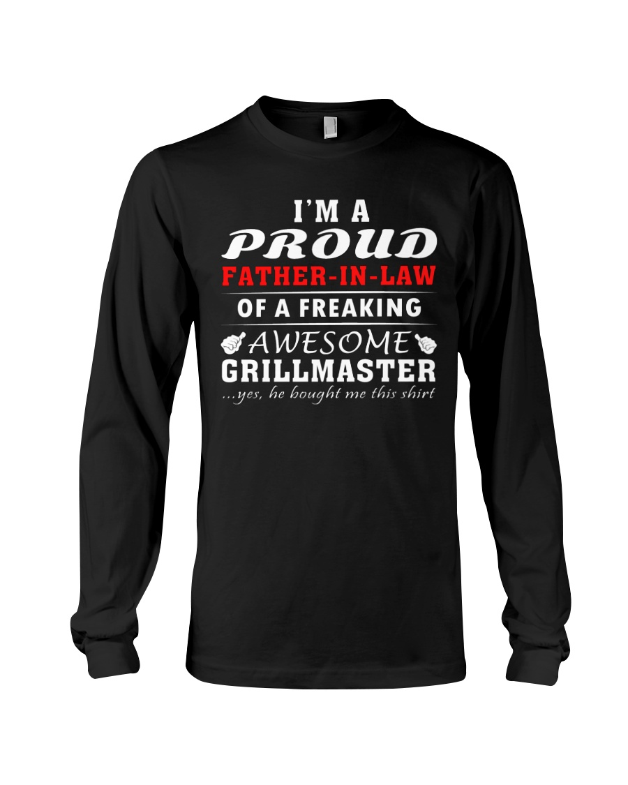 FATHER-IN-LAW GRILLMASTER Long Sleeve Tee