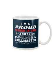 FATHER-IN-LAW GRILLMASTER Mug front