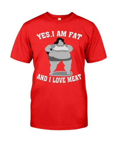 I am fat woman and I love meat
