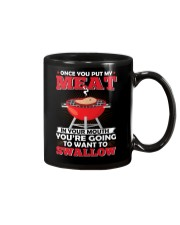 LOVE BURN FOOD BBQ GRILL 2 Mug tile