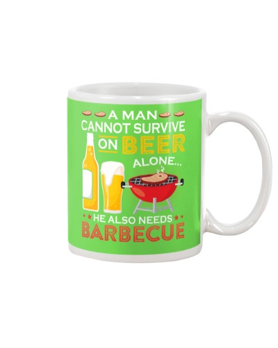 A Man Cannot Survive on Beer Alone