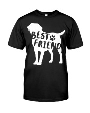 Best Friend Labrador Retriev Premium Fit Mens Tee thumbnail
